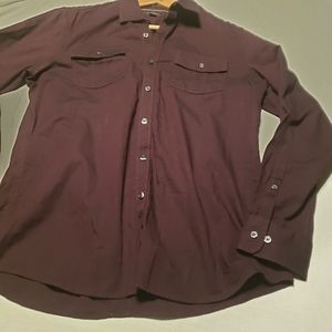 Marc Anthony slim fit button down casual shirt szM